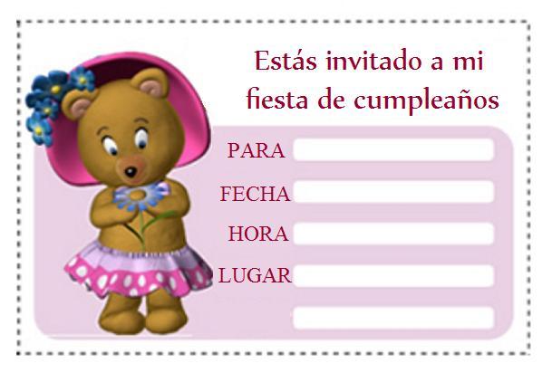 Invitacionde cumpleaños Hello Kitty para imprimir | Blog de imágenes