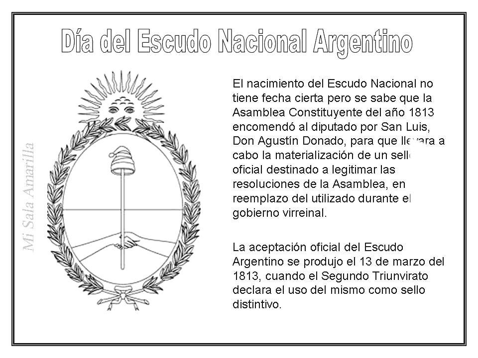 Explicaci  N Del Escudo Nacional Argentino